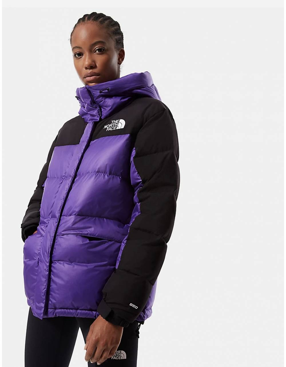 The North Face Woman's Himalayan down parka jacket - peak purple THE NORTH FACE Bomber 311,48€