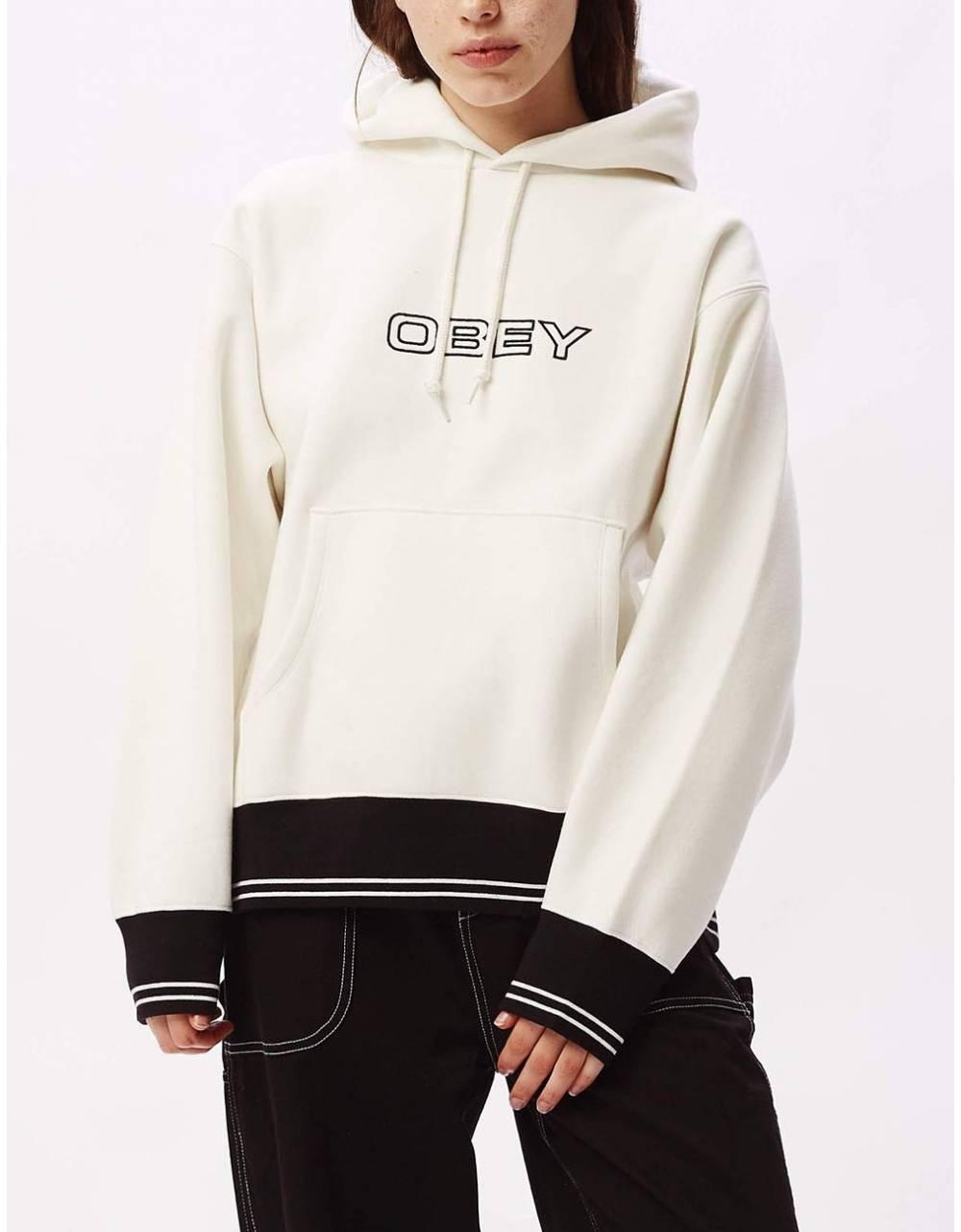 Obey Woman Gordon hoodie - bone obey Sweater 83,61€