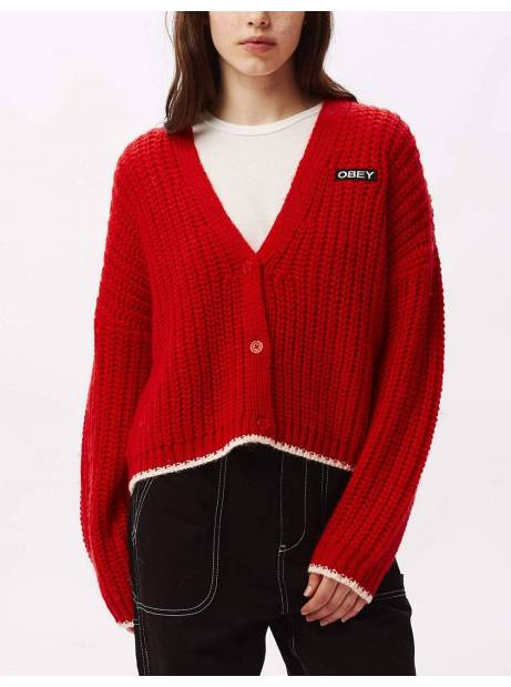 Obey Woman loeb cardigan - poppy obey Sweater 110,00 €