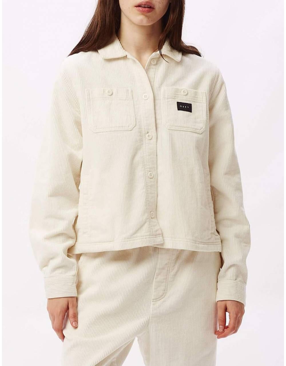 Obey Woman splash cord jacket - bone obey Jacket 95,08€