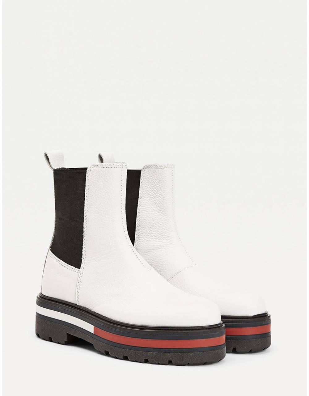 Tommy Jeans woman Flag outsole chelsea boot - White Tommy Jeans Other shoes 179,00 €
