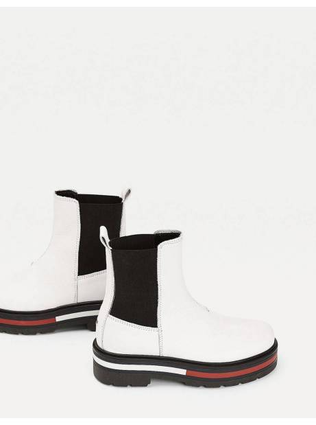 Tommy Jeans woman Flag outsole chelsea boot - White Tommy Jeans Other shoes 146,72€