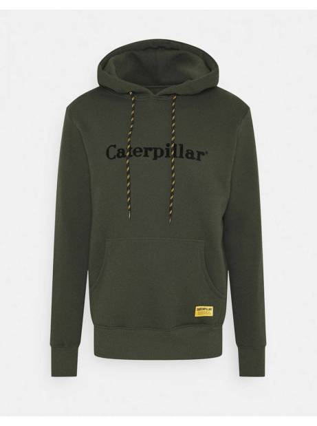 Cat Workwear Redefined Basic hoodie - army CAT WORKWEAR REDEFINED Sweater 69,67 €