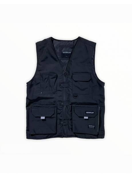 Cat Workwear Redefined fashion vest - black CAT WORKWEAR REDEFINED Jacket 165,00€