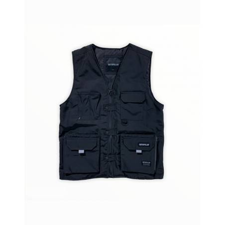Cat Workwear Redefined fashion vest - black CAT WORKWEAR REDEFINED Jacket 135,25€