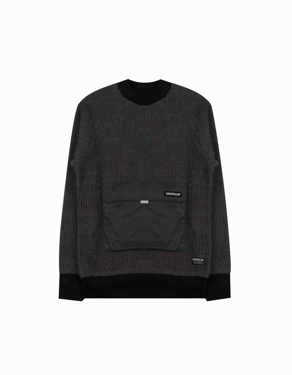 Cat Workwear Redefined Pocket knit sweater - dark grey CAT WORKWEAR REDEFINED Knitwear 102,46€