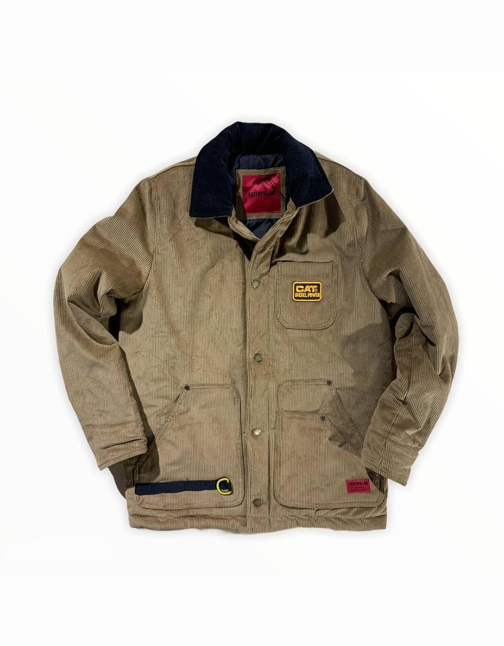 Cat Workwear Redefined Velvet Corduroy work jacket - cognac CAT WORKWEAR REDEFINED Jacket 159,84€