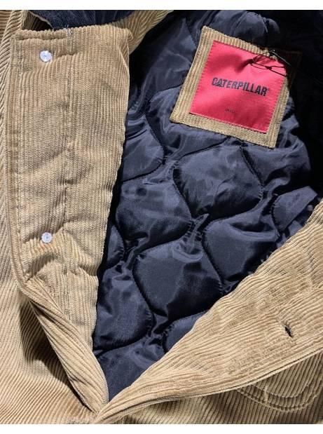 Cat Workwear Redefined Velvet Corduroy work jacket - cognac CAT WORKWEAR REDEFINED Jacket 195,00€