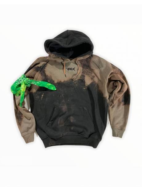 Volk basic hoodie - bleached black VOLK Sweater 99,00€