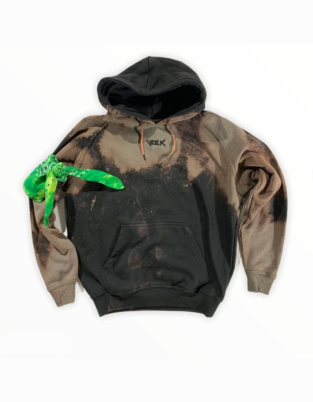 Volk basic hoodie - bleached black VOLK Sweater 81,15€