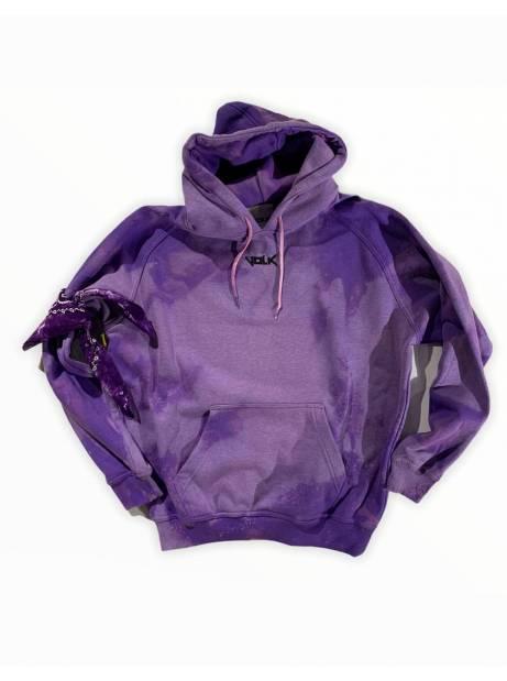 Volk basic hoodie - bleached violet VOLK Sweater 99,00€