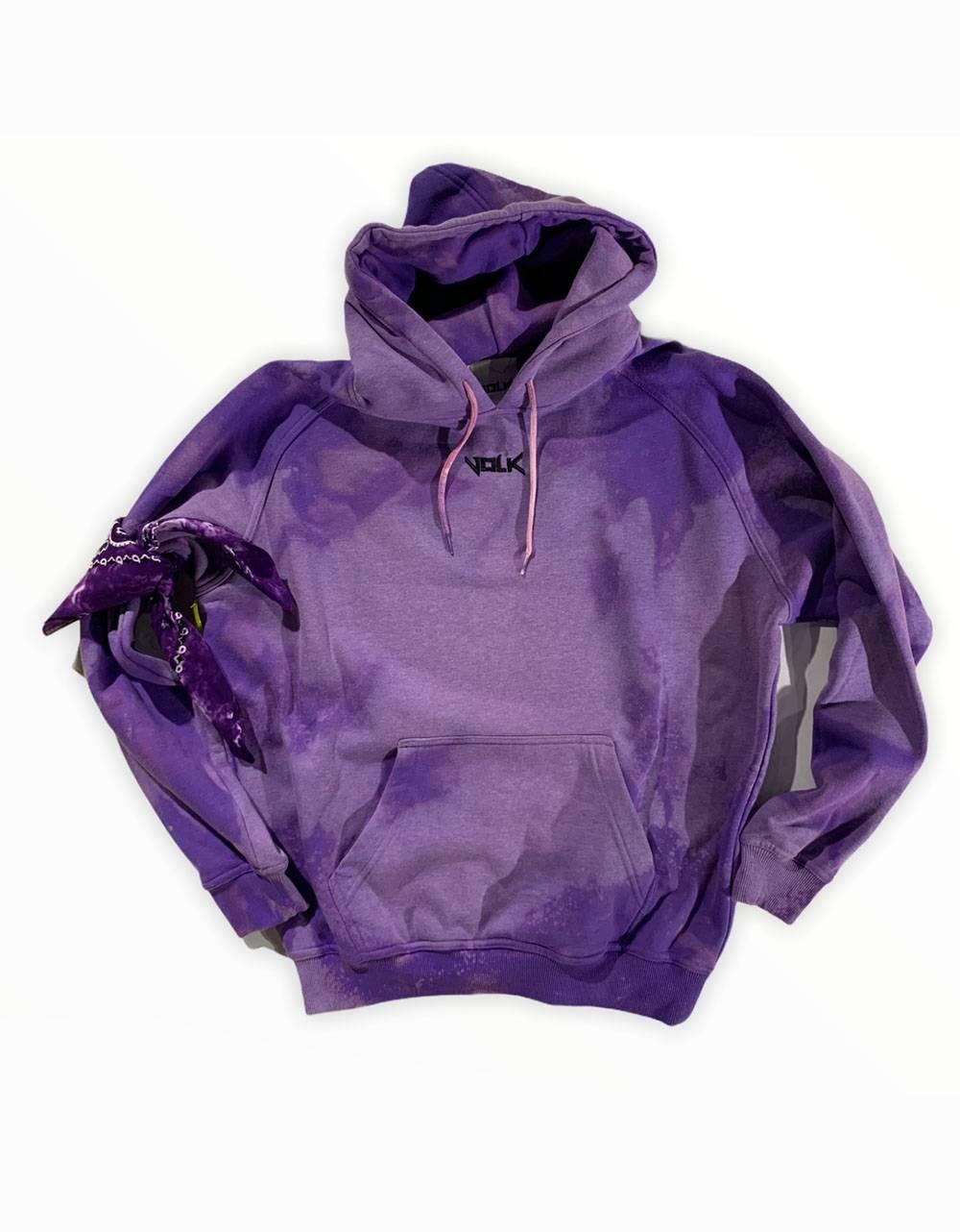 Volk basic hoodie - bleached violet VOLK Sweater 81,15€