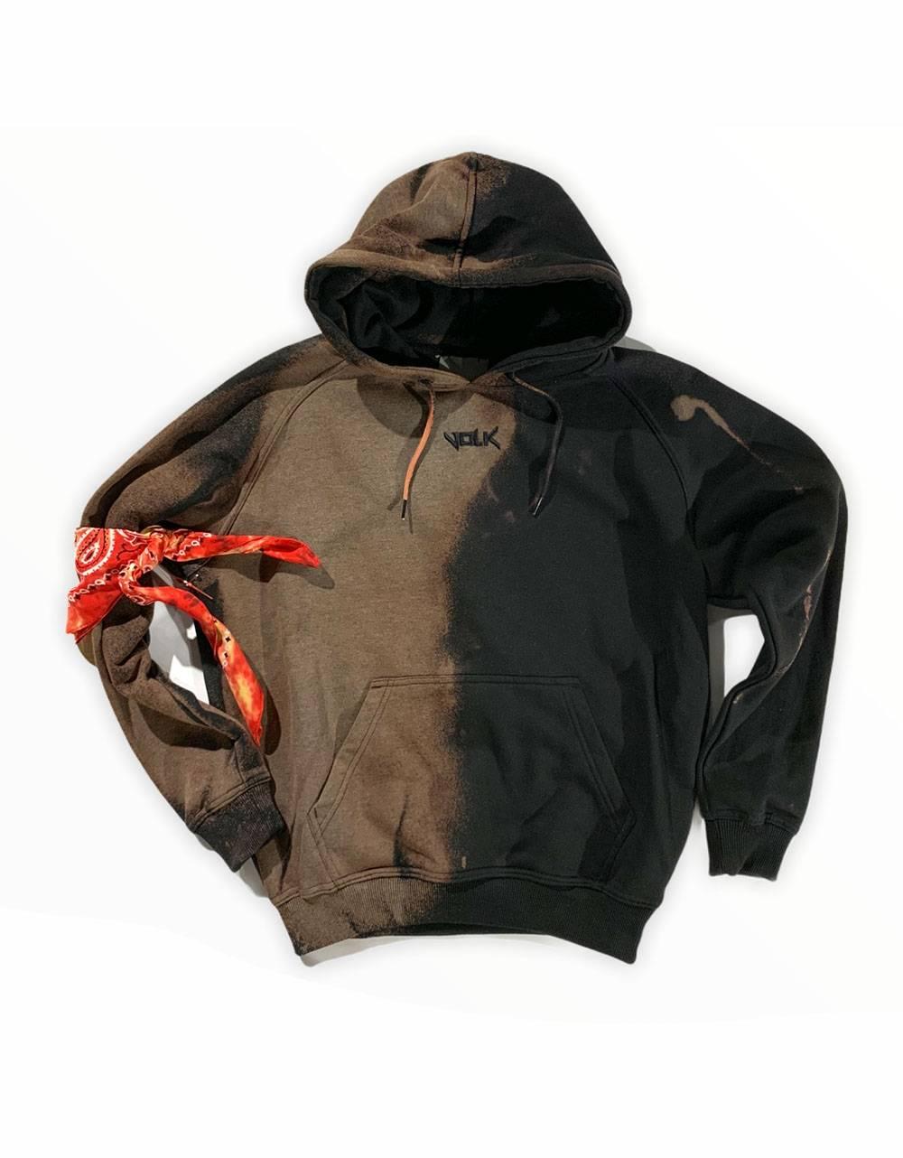 Volk smile font hoodie - bleached black VOLK Sweater 97,54€