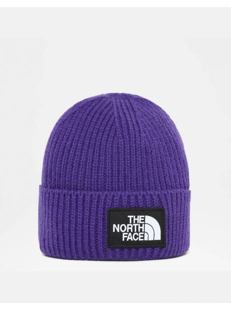 The North Face box logo cuff beanie - peak purple THE NORTH FACE Beanie 28,69 €