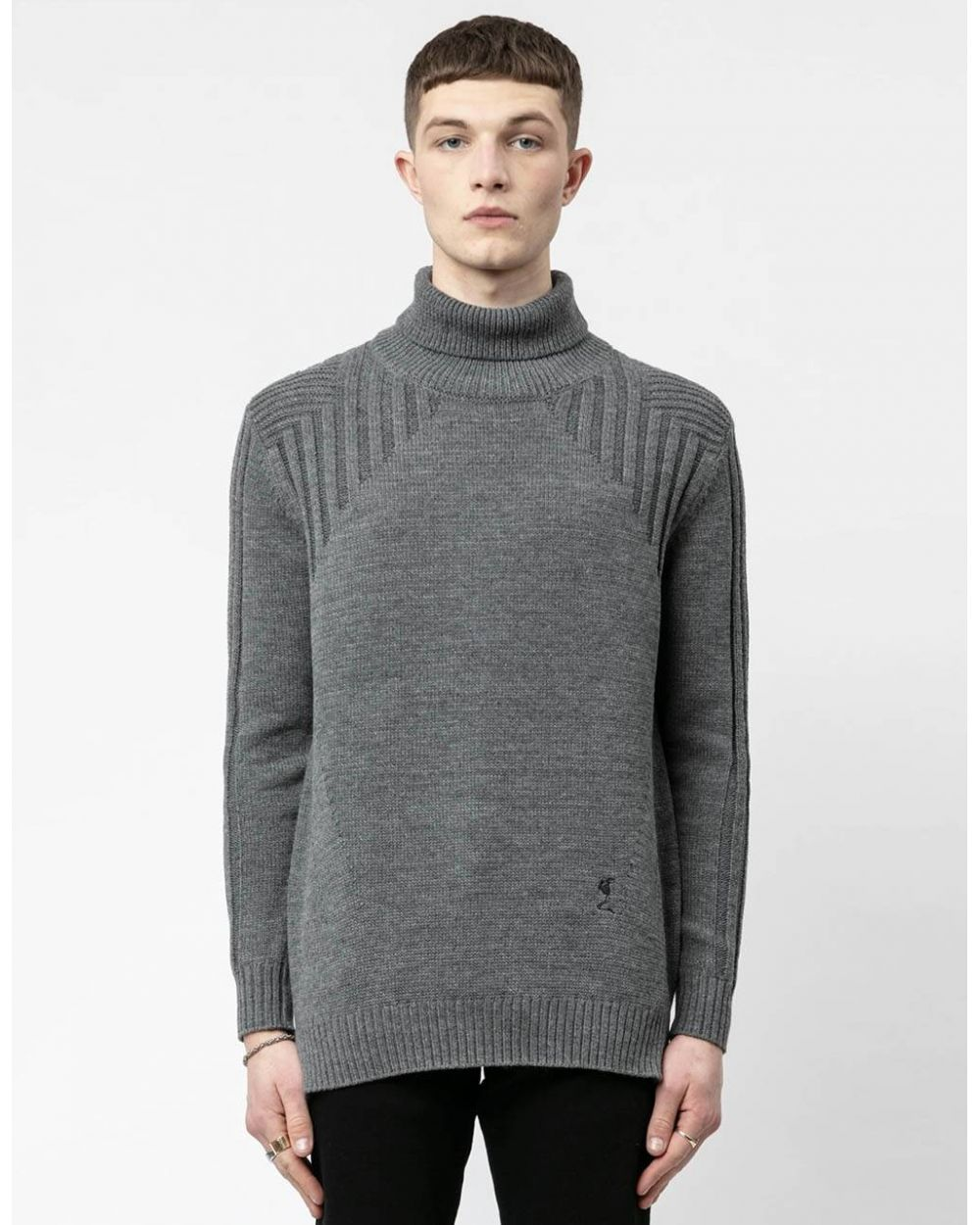 Religion UK Crusade knit jumper - grey Religion Knitwear 120,00 €
