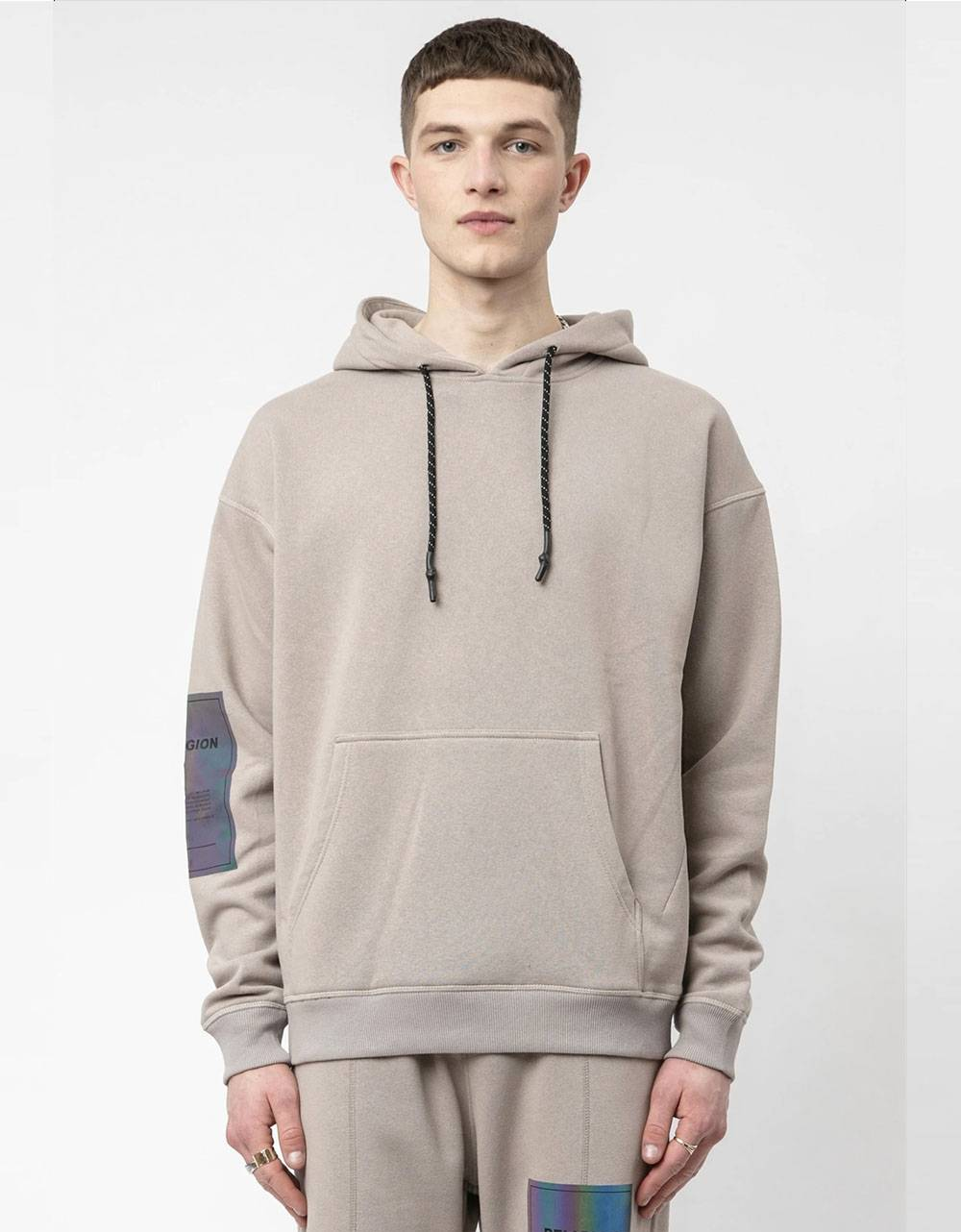 Religion UK Plain hoodie - taupe Religion Sweater 73,77 €