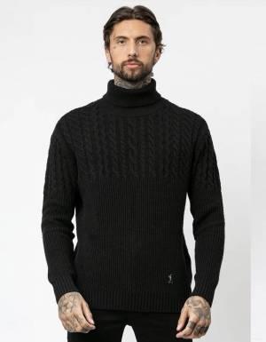 Religion UK Vision knit jumper - black Religion Knitwear 98,36€