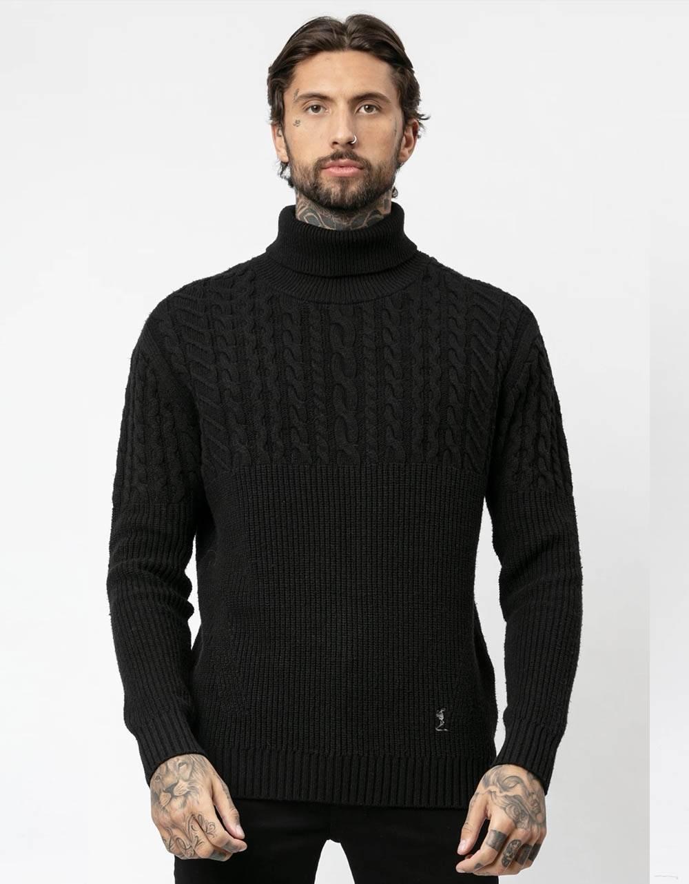 Religion UK Vision knit jumper - black Religion Knitwear 120,00€