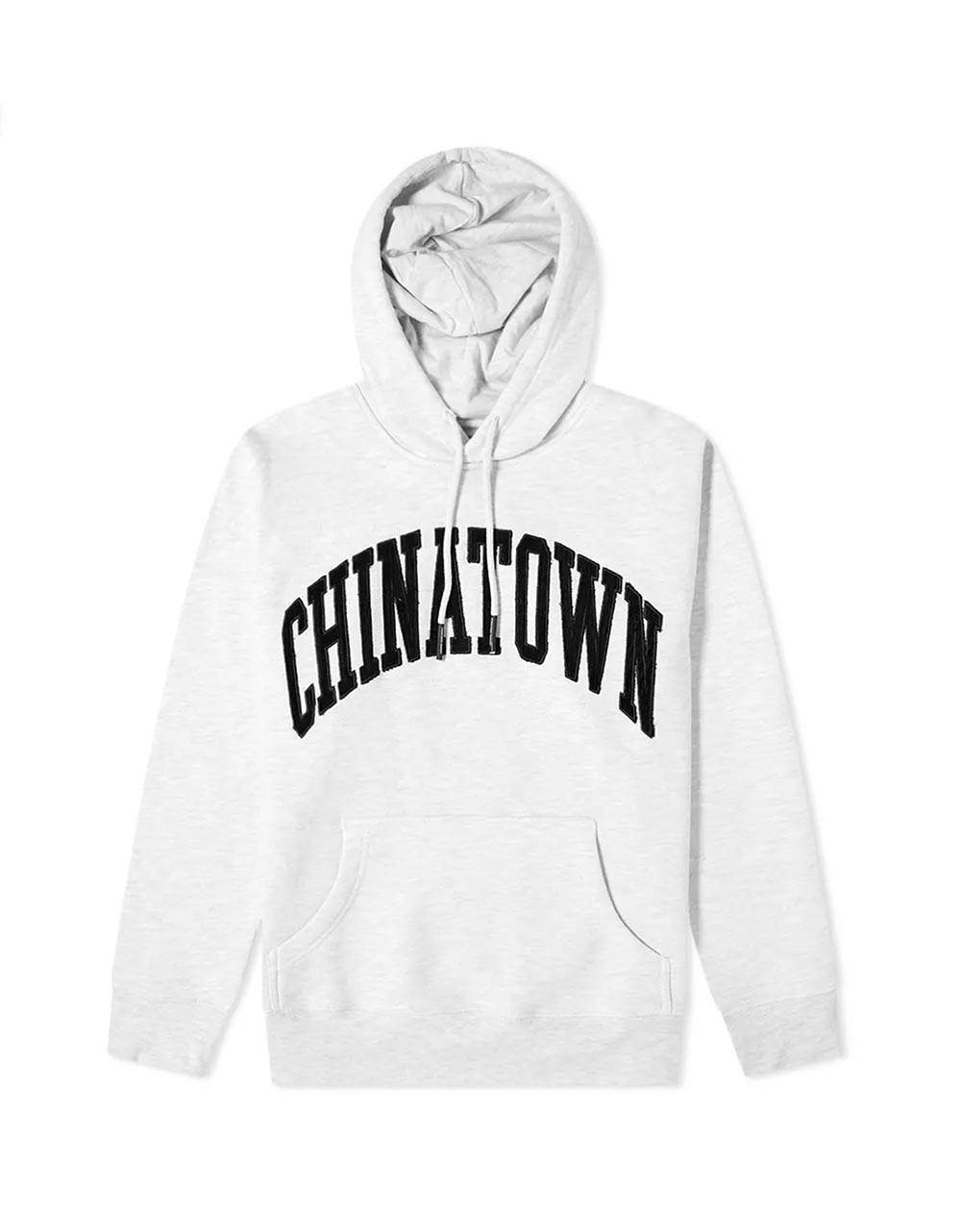 ChinaTown Market Corduroy arch hoodie - grey melange Chinatown Market Sweater 105,74€