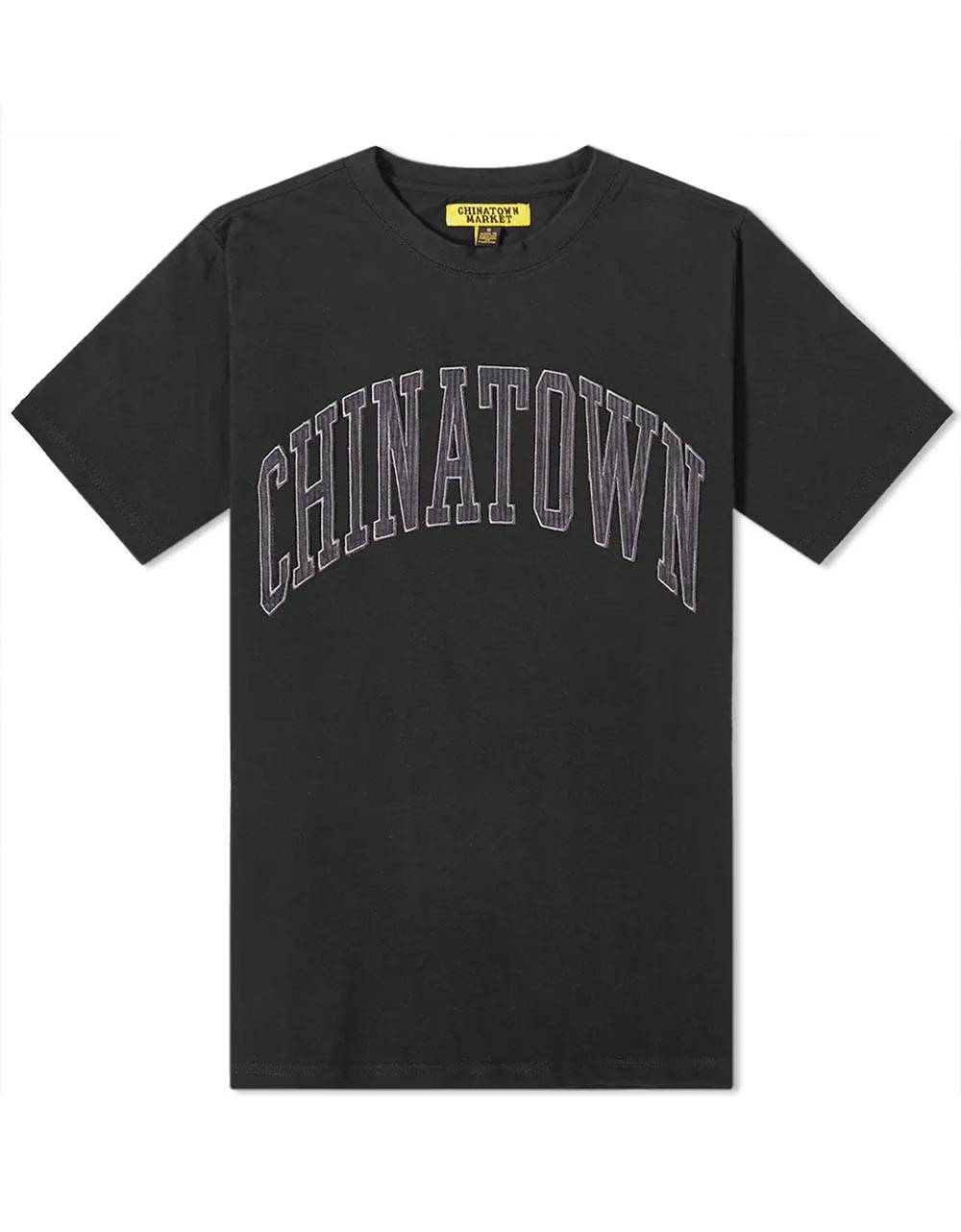 ChinaTown Market Corduroy tee - black Chinatown Market T-shirt 75,00€