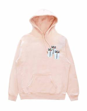 Pleasures Charge premium hoodie - dusty rose Pleasures Sweater 111,48 €