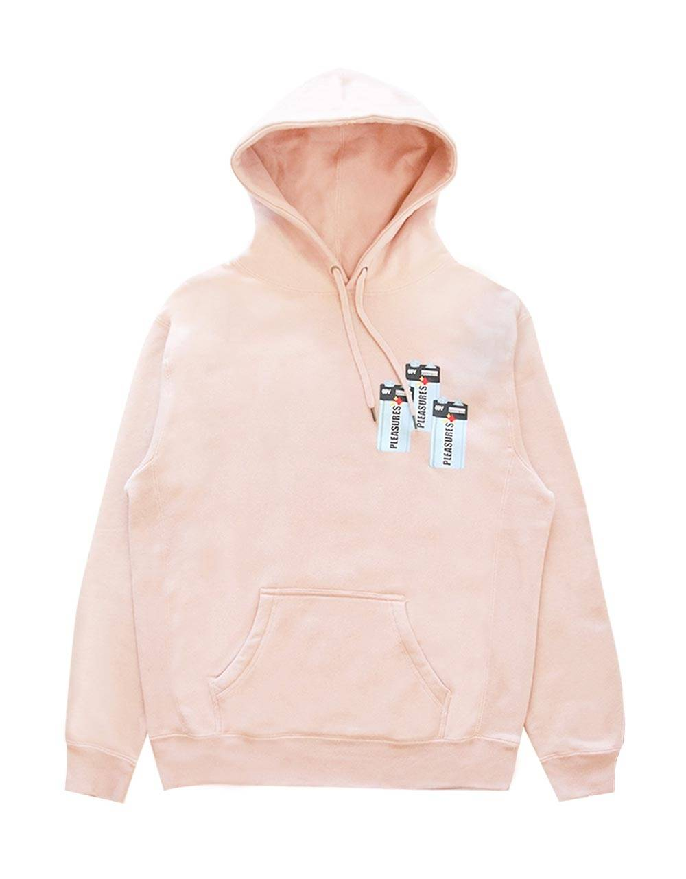 Pleasures Charge premium hoodie - dusty rose Pleasures Sweater 145,00 €