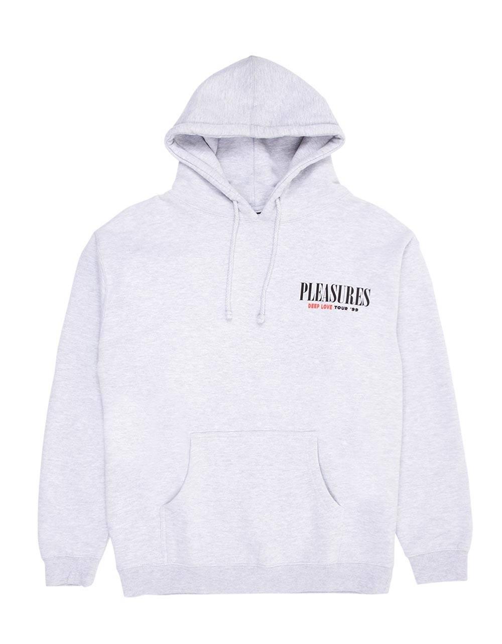 Pleasures Deep love hoodie - heather grey Pleasures Sweater 125,00€