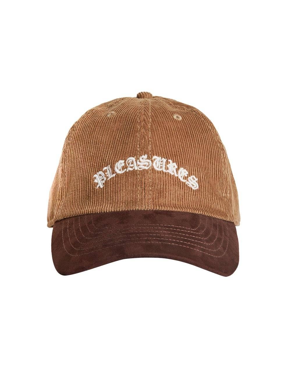 Pleasures Old & corduroy polo cap - brown Pleasures Hat 50,00€