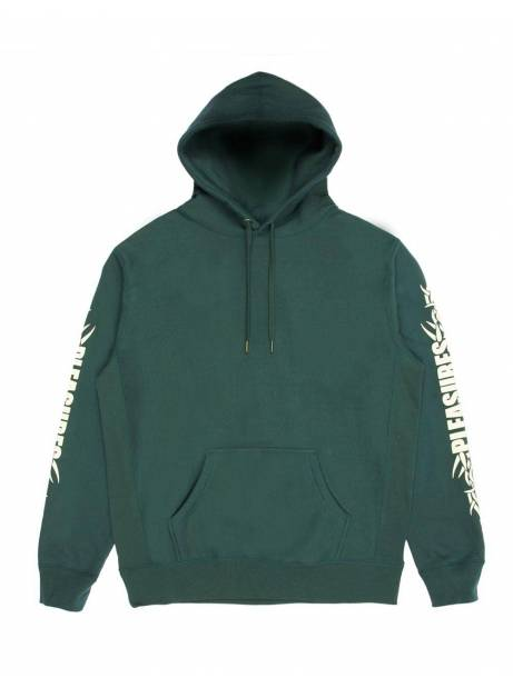 Pleasures Razor logo hoodie - dark green Pleasures Sweater 97,54 €