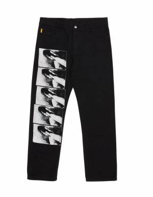 Pleasures Shallow denim jeans - black Pleasures Jeans 110,66 €