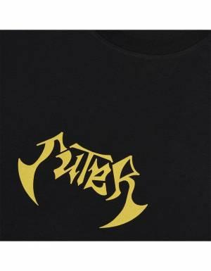 Iuter New order tee - Black IUTER T-shirt 37,70€