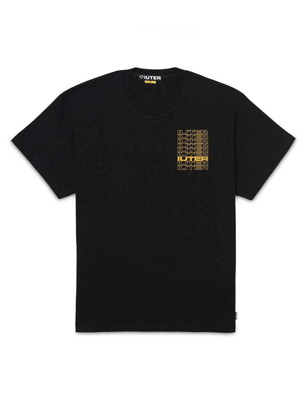 Iuter Spine tee - Black IUTER T-shirt 45,00€