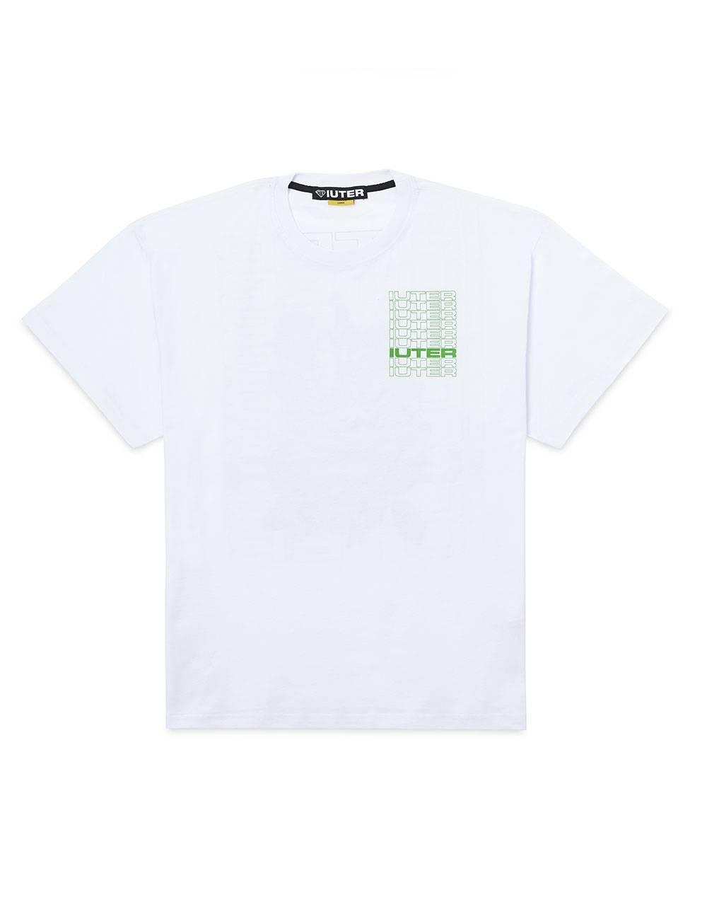 Iuter Spine tee - White IUTER T-shirt 45,00€