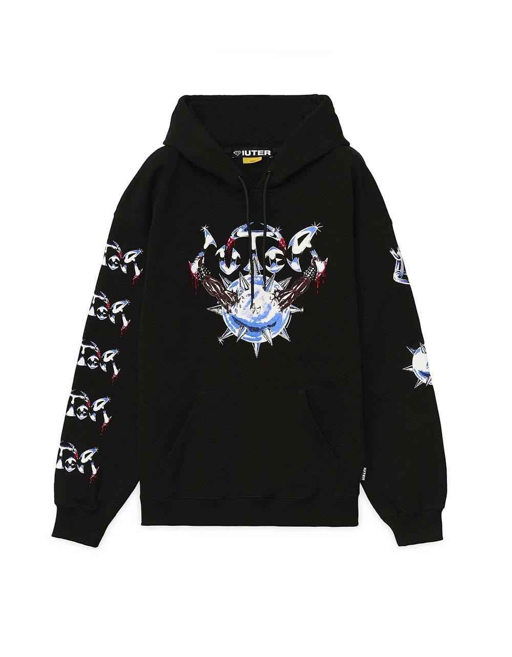 Iuter Steel Hoodie - Black IUTER Sweater 112,00€