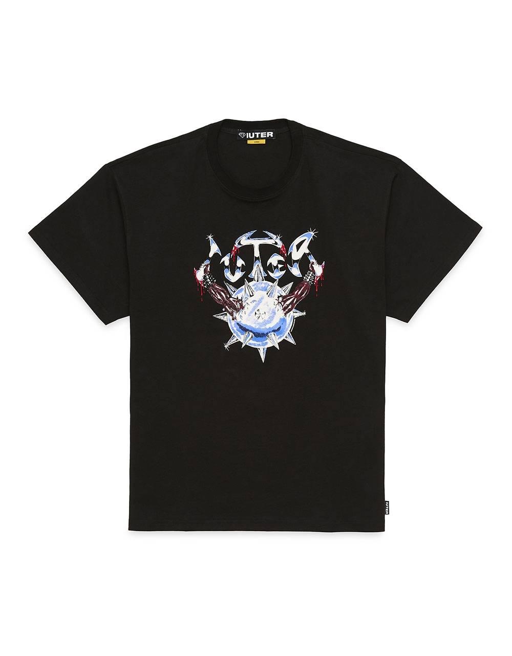 Iuter Steel tee - Black IUTER T-shirt 52,00€