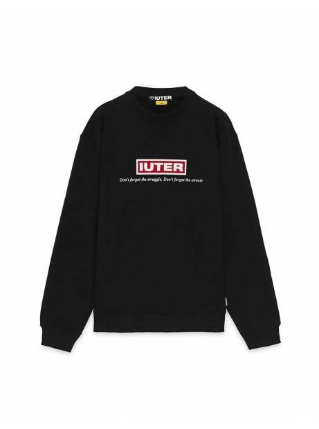 Iuter Struggle crewneck sweater - Black IUTER Sweater 81,15€