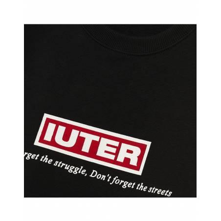 Iuter Struggle crewneck sweater - Black IUTER Sweater 99,00€