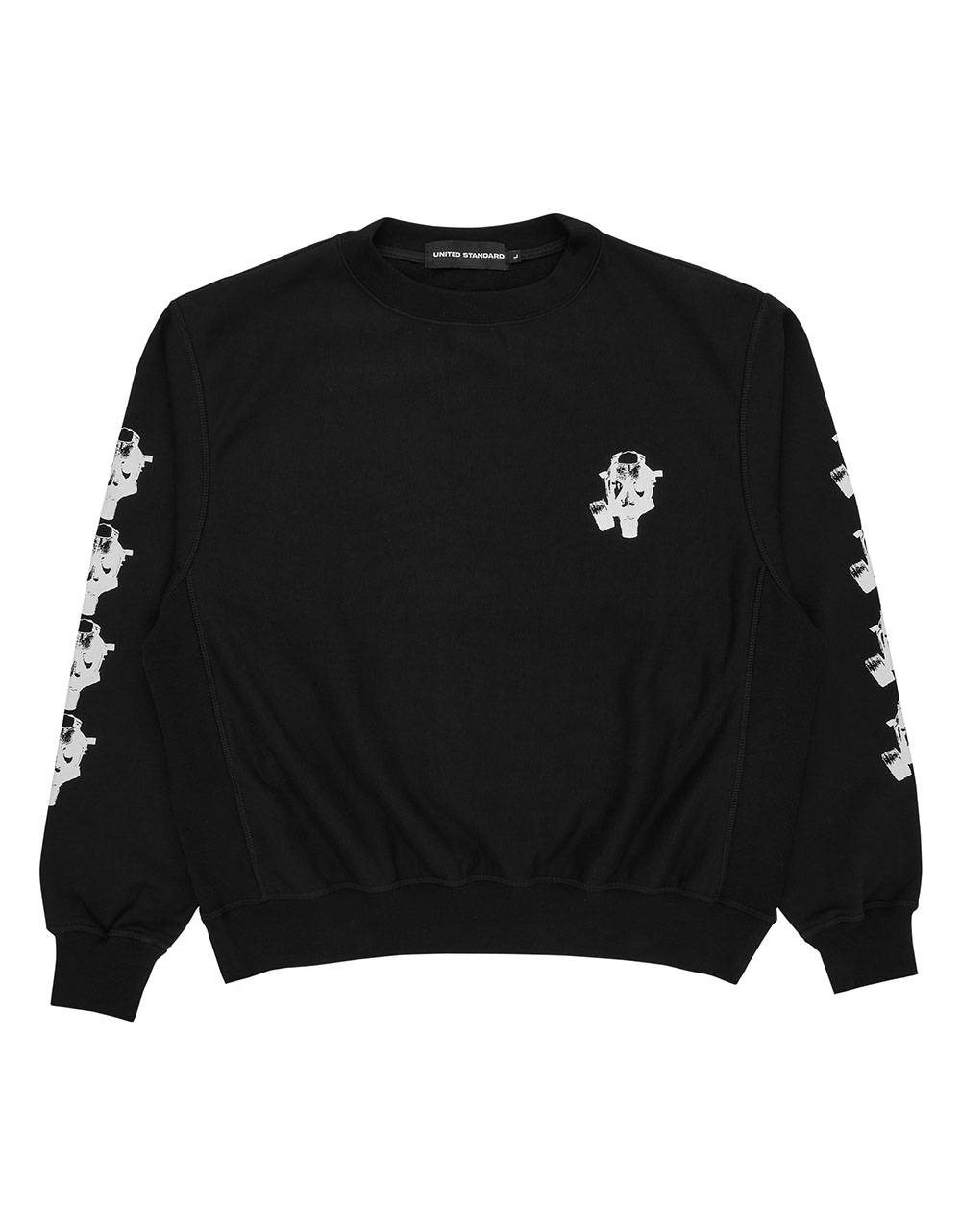 United Standard Mask crewneck sweater - black United Standard Sweater 138,52 €
