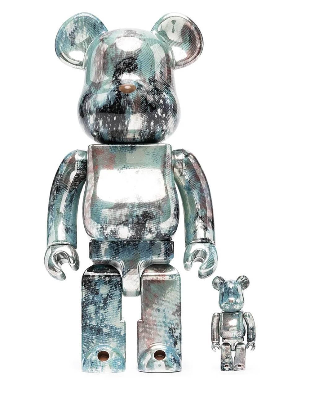 Medicom Toy Pushead 5 Bearbrick Set 100% 400% Medicom Toy Toys 229,51€