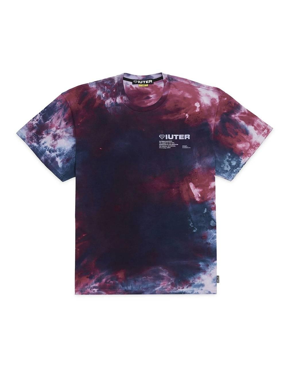 Iuter Disaster tee - Purple IUTER T-shirt 50,00€