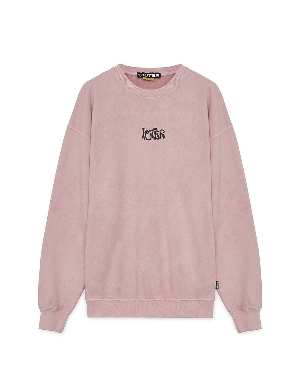 Iuter Take more crewneck sweater - Pink IUTER Sweater 109,00 €