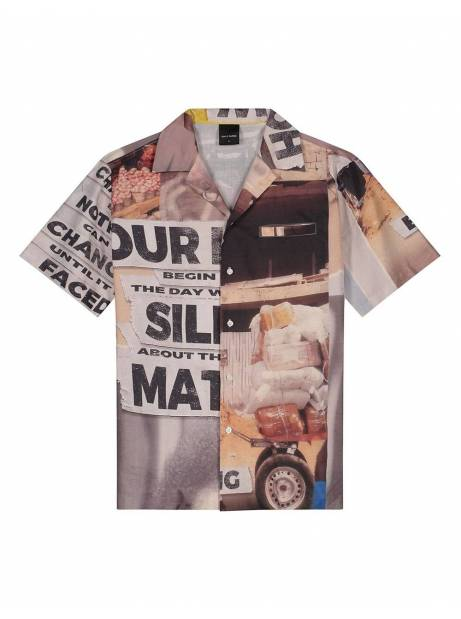 Daily Paper Kovan collage shirt - collage allover DAILY PAPER Shirt 155,00 €