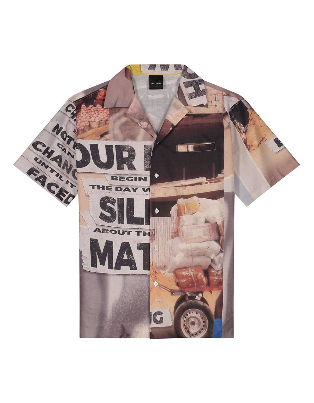 Daily Paper Kovan collage shirt - collage allover DAILY PAPER Shirt 127,05€