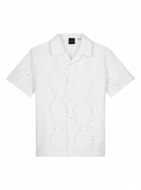 Daily Paper Kovan lace shirt - white DAILY PAPER Shirt 160,00 €