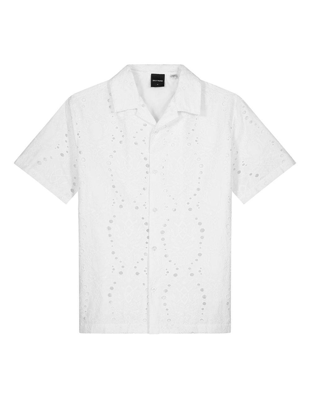 Daily Paper Kovan lace shirt - white DAILY PAPER Shirt 131,15€