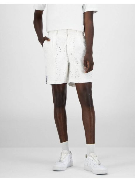 Daily Paper Klevon lace shorts - white DAILY PAPER Shorts 116,39€