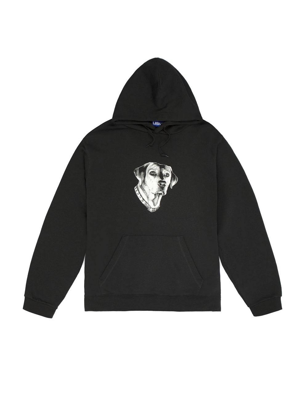 Usual Dogs Hooded Sweatshirt - black Usual Sweater 78,69€