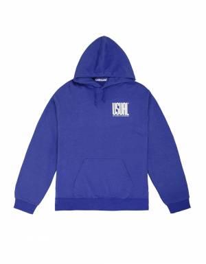 Usual Double U Hooded Sweatshirt - royal Usual Sweater 90,00€