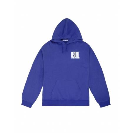 Usual Double U Hooded Sweatshirt - royal Usual Sweater 73,77€