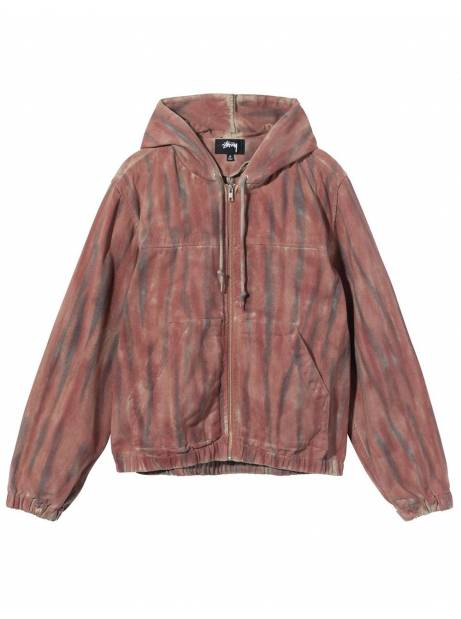 Stussy Dyed work jacket - rust Stussy Jacket 206,00€